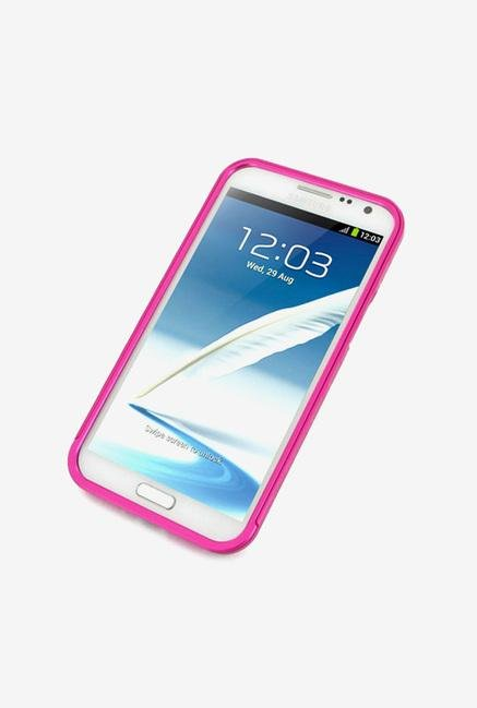 Callmate Bumper Metal Case Pink for Samsung Note 2
