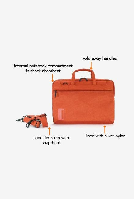 Tucano WOM133O Laptop Bag Orange