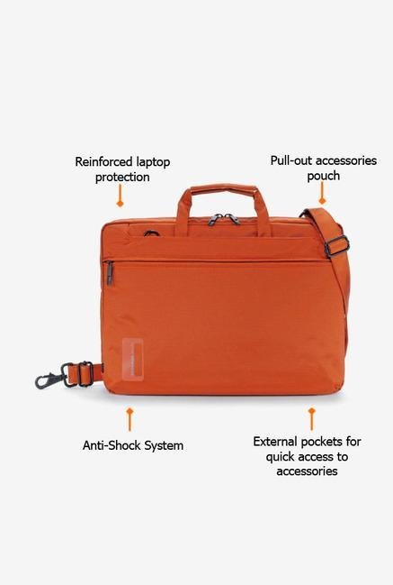 Tucano WOMB154O Laptop Bag Orange