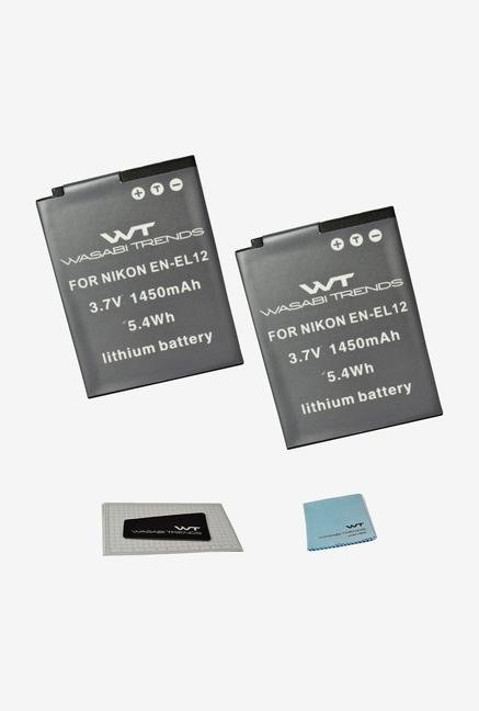 Wasabi Trends Battery / 2Pack For Nikon