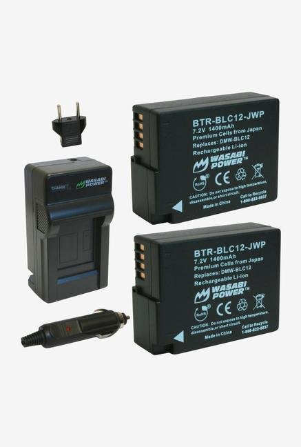 Wasabi Power Kit-Btr-Blc12-Lch-Blc12-01 Wasabi Power Battery (2-Pack) And Charger For Panasonic