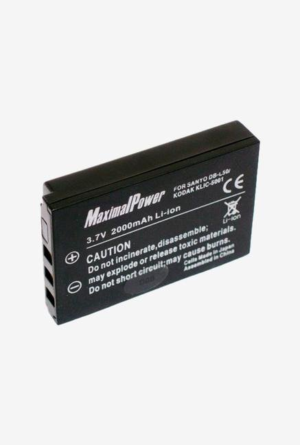 Maximal Power Replacement Battery For Kodak Digital Camera/Camcorder - Black