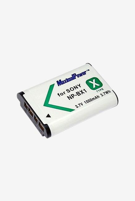 Maximal Power Db Son Np-Bx1 Replacement Battery - White/Black