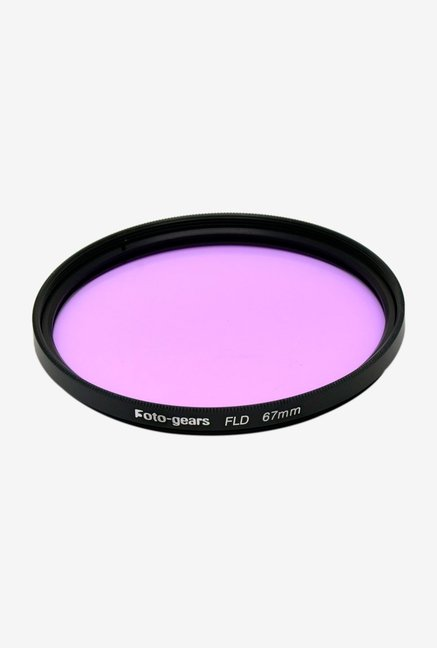 Mesenltd Foto-gears 67mm FLD FLD Filter Black and Violet