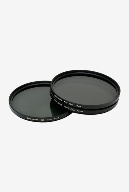 Mesenltd Foto-gears 77mm ND Filter kit Black