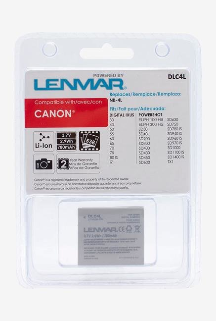 Lenmar Replacement Rechargeable Battery For Canon Nb-4L Dlc-4L