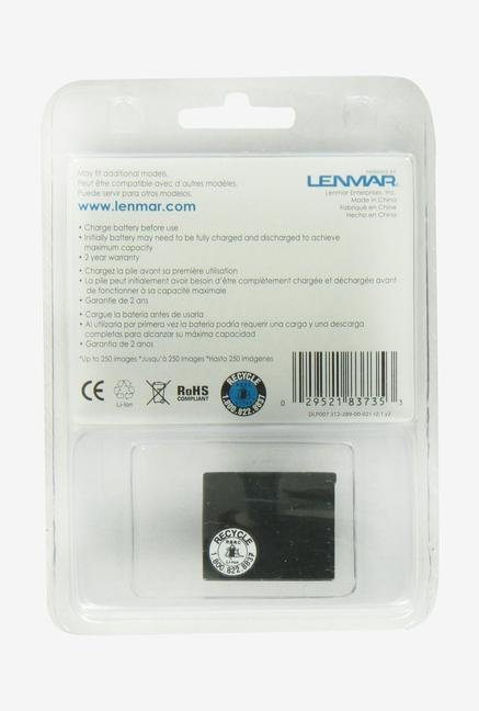 Lenmar Replacement Battery For Panasonic Works With Panasonic Lumix Dlp-007