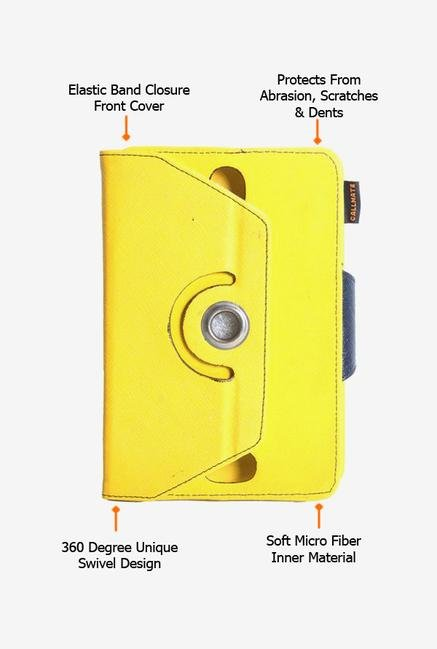 Callmate Rotation Cover Yellow Universal for 7 inch Tablet