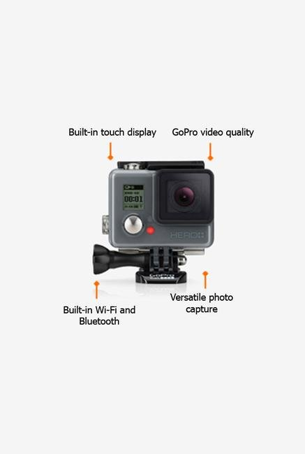 GoPro HERO+LCD CHDHB101EU Action Camera Black