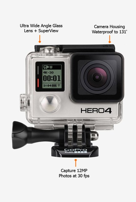 GoPro HERO 4 CHDHX401EU Action Camcorder Black