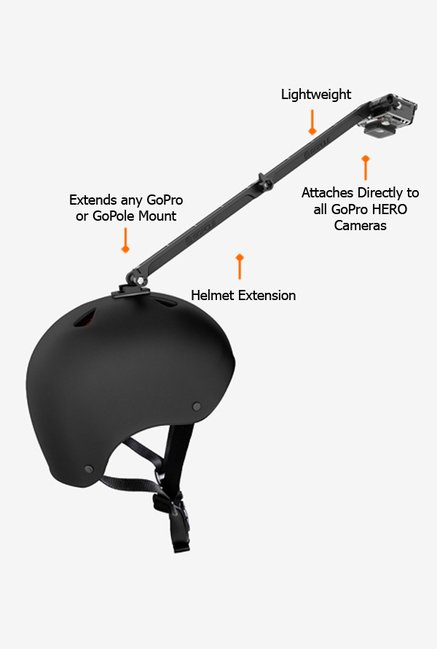 Gopole GPA14 Helmet Extension Black