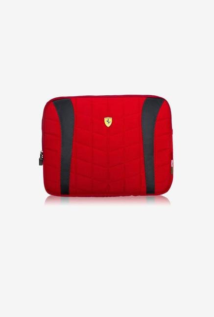 "Ferrari FECOLV2B 15"" Laptop Sleeve Red"
