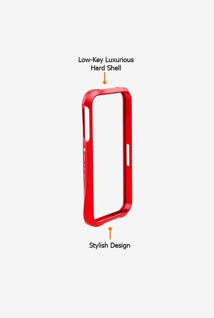 Callmate Bumper Cleave Case Red for iPhone 4/4S