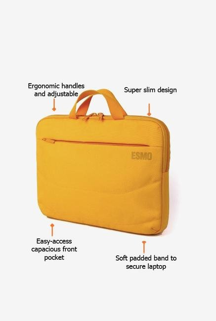 Tucano BBASEY Laptop Bag Yellow