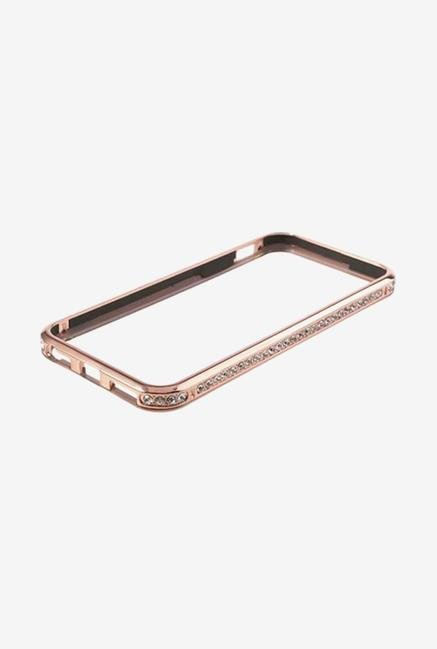 Callmate Bumper Diamond Case Rose Gold for iPhone 5/5S