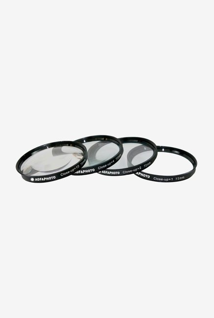 AGFA 72mm APCUF472 Filter Kit (4 Piece) Black