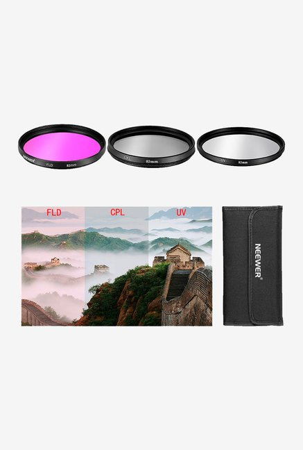 Neewer 82 mm 10001629 Filter Kit (3 Piece) Black