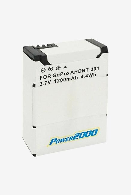 Power2000 Acd-413 Rechargeable Battery For Gopro Hero 3 - Black