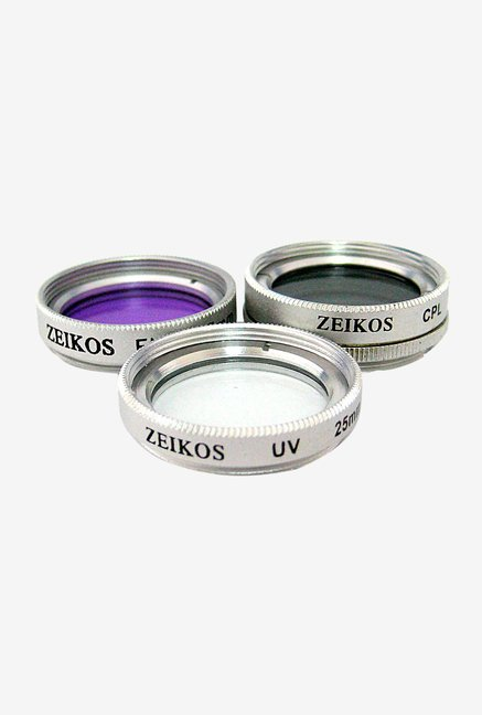 Zeikos 25mm Multi-Coated ZE-FLK25 Filter Kit (3 Piece)