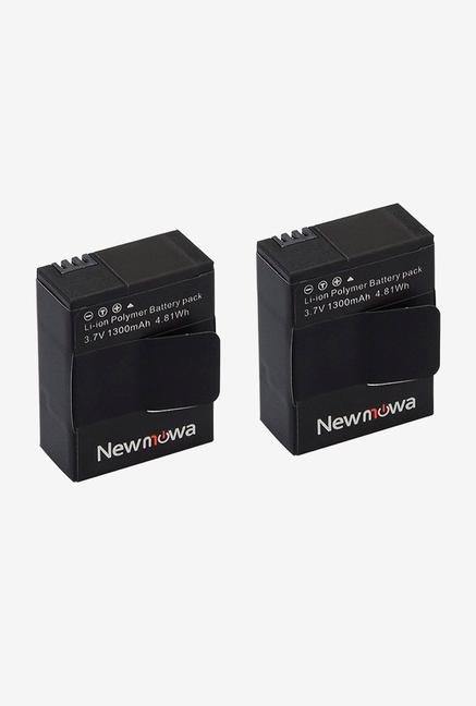 Newmowa Li-Ion Polymer Rechargeable 1300Mah Battery - 2-Pack For Gopro Hero
