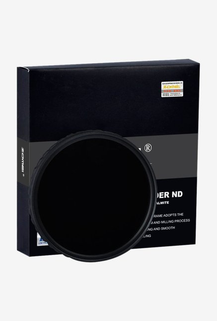 ZOMEi Ultra Slim ZOMEI-HD-ND400-72mm Lens Filter Black
