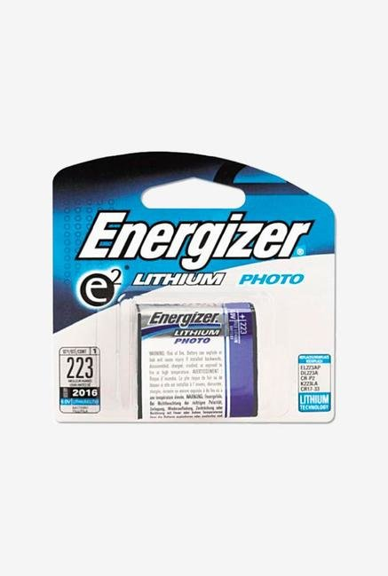 Energizer Professional Lithium 223- 6V Battery - Black/Red