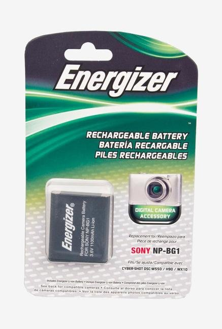 Energizer Enb-Sbg Digital Replacement Battery Np-Bg1 For Sony - Black