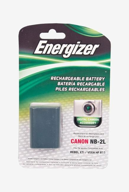 Energizer Enb-C2L Digital Replacement Battery Nb-2L For Canon Powershot - Black