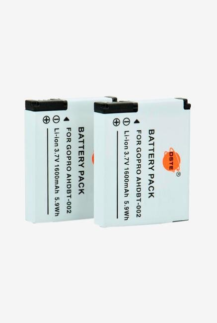 Dste Ahdbt -302 Replacement Li -Ion Battery For Gopro - 2 -Pack