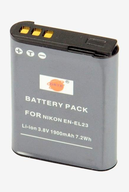 Dste 2Pcs En-El23 Replacement Li-Ion Battery For Nikon Coolpix P600 Digital Camera