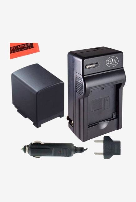 Big Mike's Replacement Bp-819 Battery And Charger Kit For Canon Vixia Hg20 Camcorder