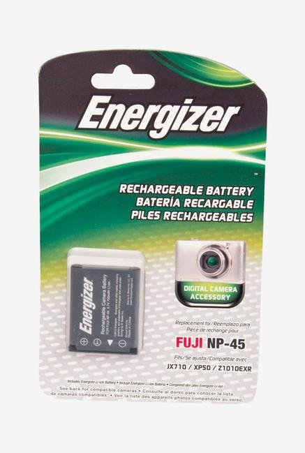 Energizer Digital Replacement Battery Np-45 For Fujifilm - Black