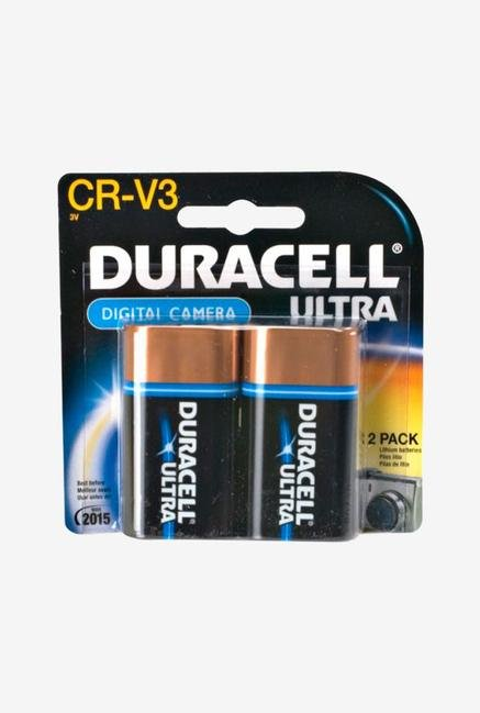 Duracell Lithium Batteries Digital Camera Cr-V3 2 Ct