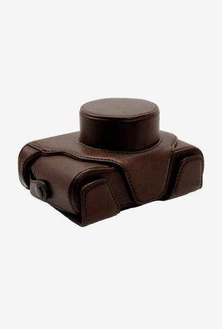 MegaGear Ever Ready X100BrownFull Leather Case Brown