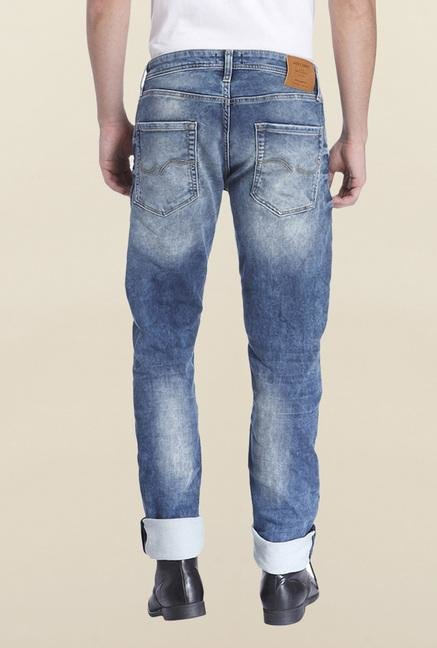 Jack & Jones Blue Denim Tim Jeans
