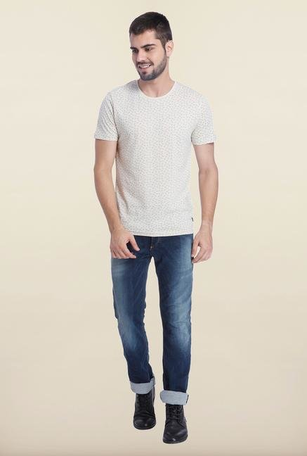 Jack & Jones Rainy Day Crew Neck T Shirt