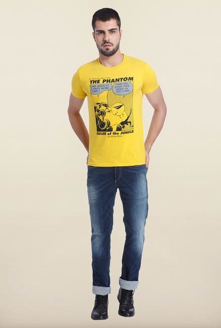 Jack & Jones Sulphur Printed T Shirt