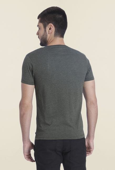 Jack & Jones Dark Grey Crew Neck T Shirt