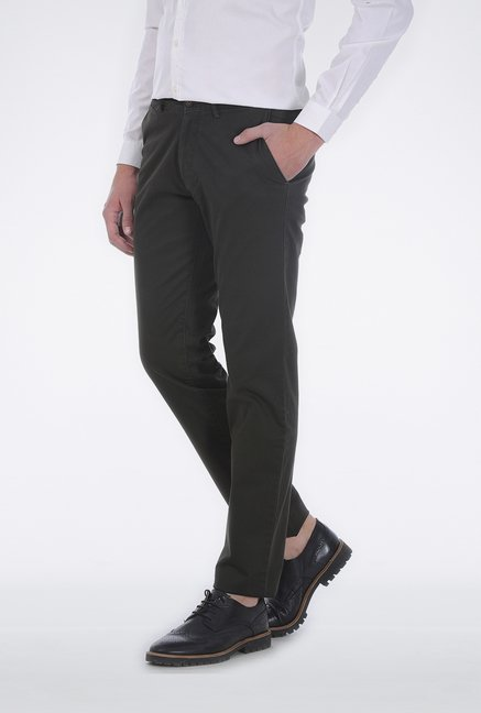 Basics Dark Grey Slim Fit Trouser