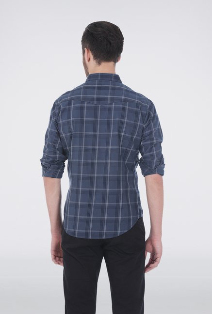 Basics Dark Grey Casual Shirt