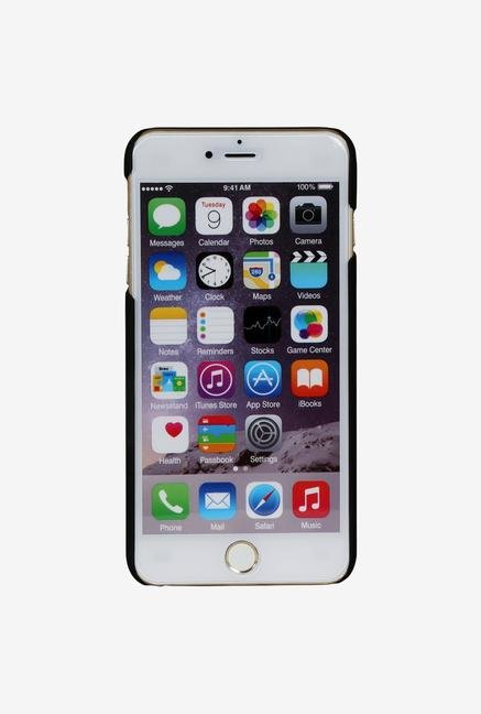 iAccy IP6P001 Cut out Hard Rubber Case Black for iPhone 6+