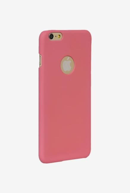 iAccy IP6P005 Cut out Hard Rubber Case Pink for iPhone 6+