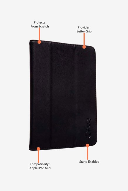 iAccy iPadM01 Flip Cover Black for iPad Mini