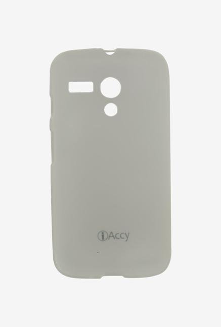 iAccy MTC001 Back Cover White for Moto G