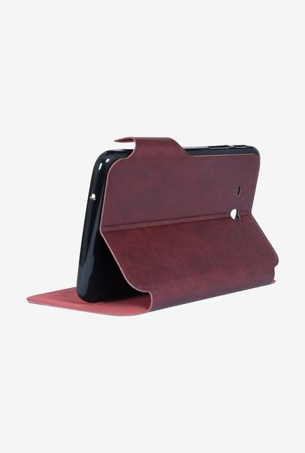 iAccy SGTF021 Flip Cover Maroon for Galaxy Tab 3 Neo T111
