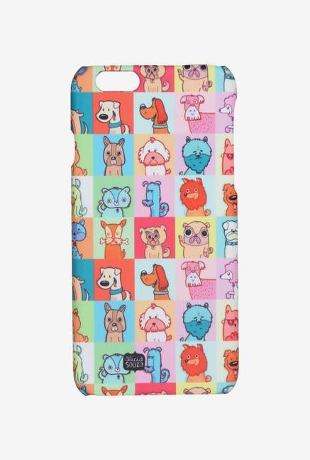 iAccy ASDI6P006 Cartoon Dog's Case Multicolor for iPhone 6+