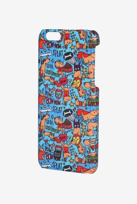 iAccy ASDI6P008 Super Hero's Case Multicolor for iPhone 6+