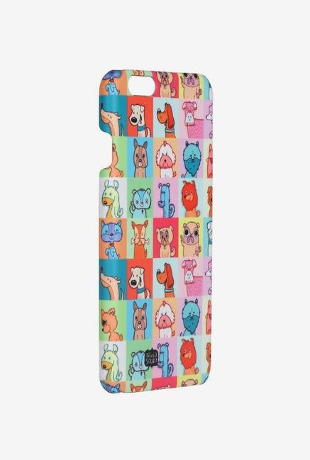 iAccy ASDI5006 Cartoon Dog's Case Multicolor for iPhone 5/5S