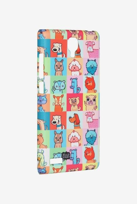 iAccy ASDXN006 Cartoon Dog's Case Multicolor for Redmi Note