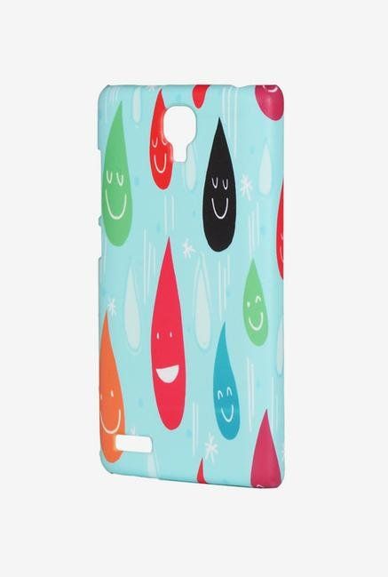iAccy ASDXN007 Droplets Case Multicolor for Redmi Note